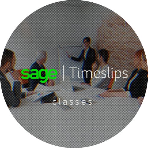 Sage Timeslips classes - learn Timeslips today!