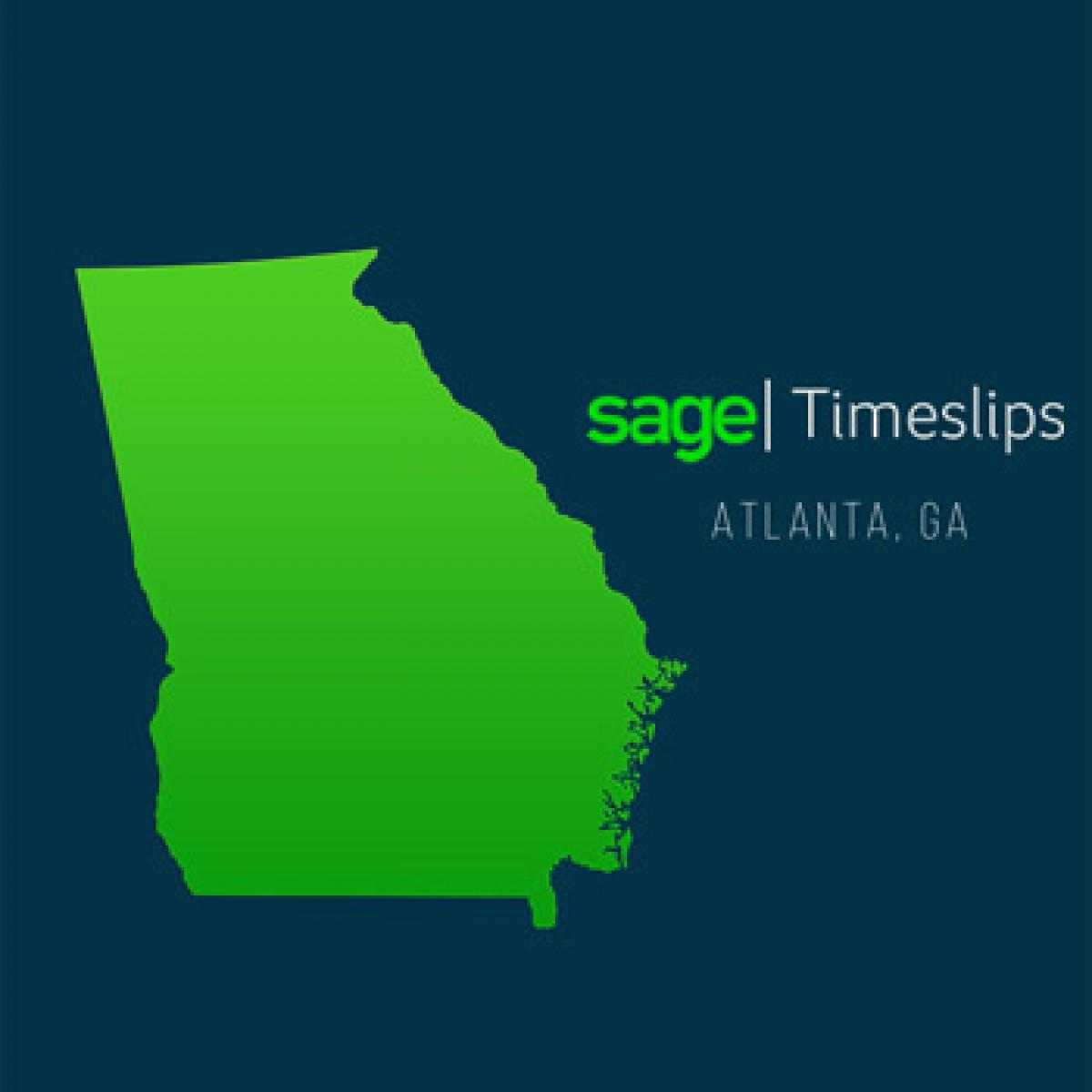 Sage Timeslips Training Classes in Atlanta, Georgia