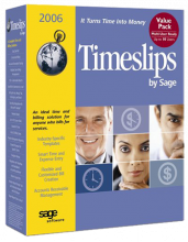 Sage Timeslips 2006 consultant offering Timeslips classes, support, and database repair.